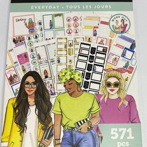 NWT The Happy Planner RongRong Everyday 571 Pieces